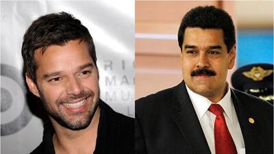 Ricky se disculpa con Maduro por mensaje en Twitter sobre banderas p181d...