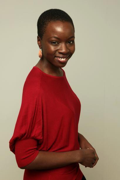 La actriz de 36 años nació en Iowa pero se mudó a Zimbabwe con su famili...