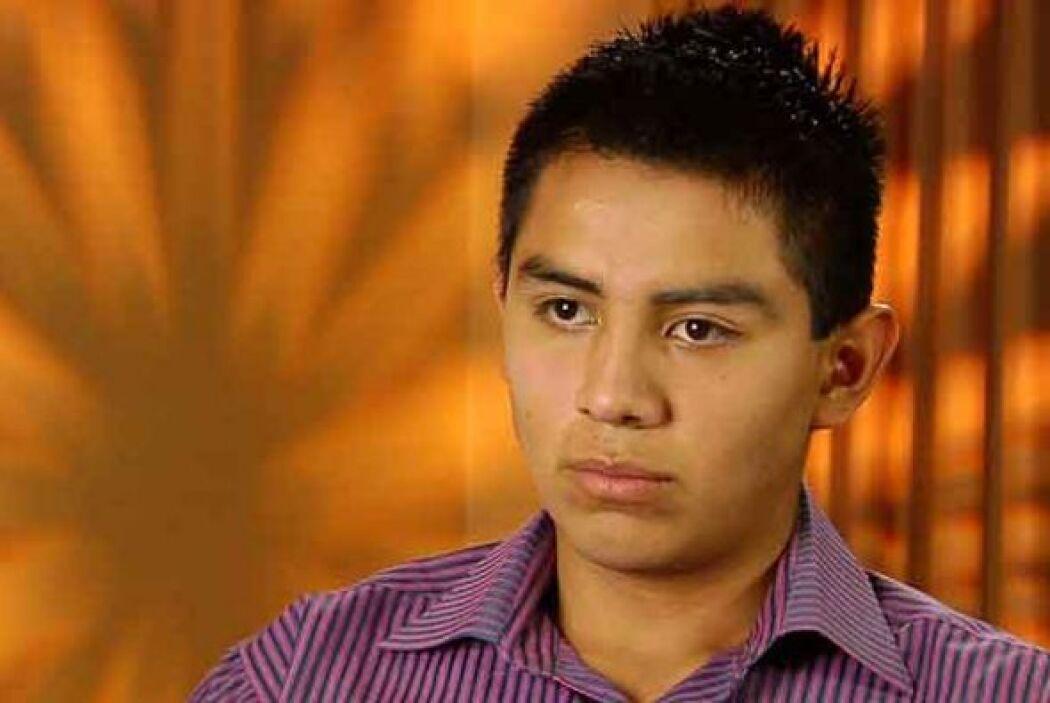 José Carlos García Tolentino, ex estudiante de la Universidad Autónoma d...