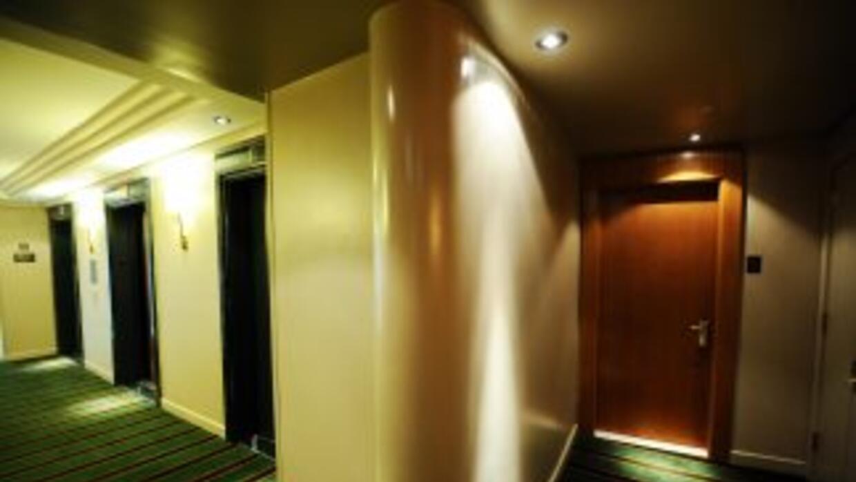 Esta fue la habitación donde habría ocurrido el ataque contra la mucama...