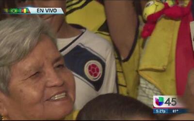 Los colombianos sufren su eliminación del Mundial