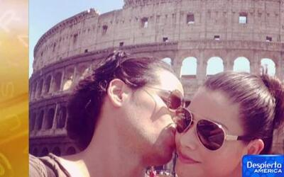 Ana Patricia derrama amor en Roma junto a su novio