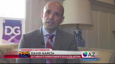 Conociendo al Candidato Demócrata David García