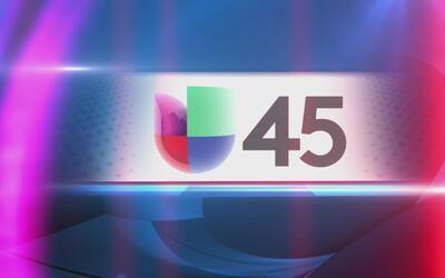 Logo Univision 45 Cortina