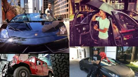 En el gusto de los cantantes de reggaeton abundan las marcas de lujo y d...