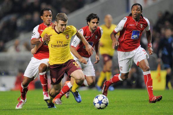 Otro equipo inglés, el Arsenal, no corrió con la misma suerte en su visi...