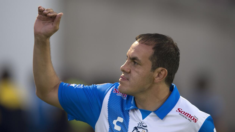 El ex futbolista será alcalde de Cuernavaca, Morelos.