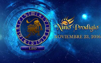 Niño Prodigio – Leo 23 de Noviembre, 2016