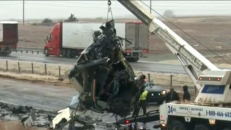 Seis muertos en accidentes viales deja hasta el momento la tormenta 'Júp...