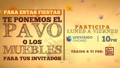 Promoción Pavo Univision Chicago
