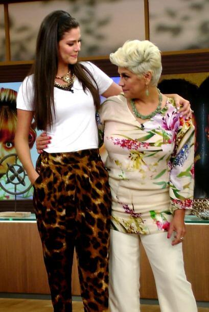 Doña María dijo que Ana tiene muchas cualidades, por eso conquistó el co...