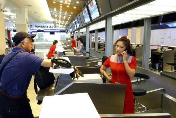 La aerolínea TransAsia tiene registros de ocho accidentes en toda su his...