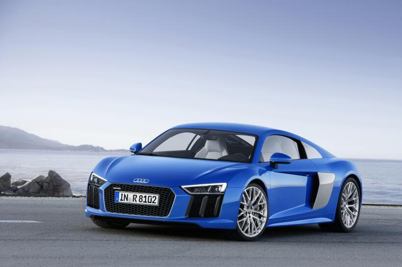 Audi llega a Los Angeles con sobrepeso de potencia en las maletas r81500...