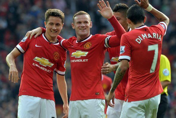 El tercer gol llegaría y ahora era el turno de Wayne Rooney para...