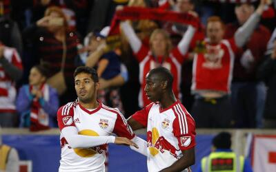 Gonzalo Verón con los New York Red Bulls