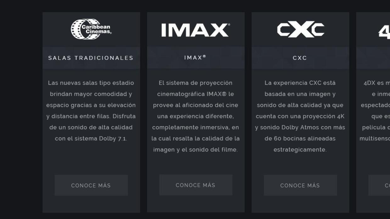 Caribbean Cinemas sala IMAX