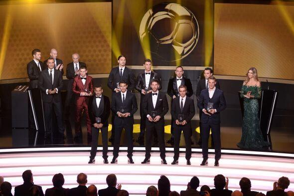 Los galardonados fueron jugadores de los que se esperaba ver en este equ...