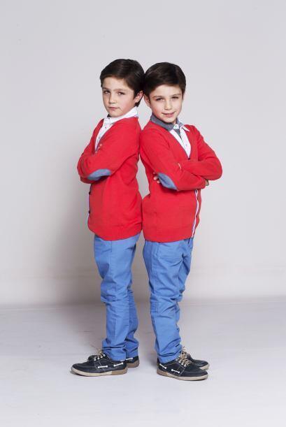 Son Pablo y Manuel, quienes interpretarán a los gemelos Guille y...