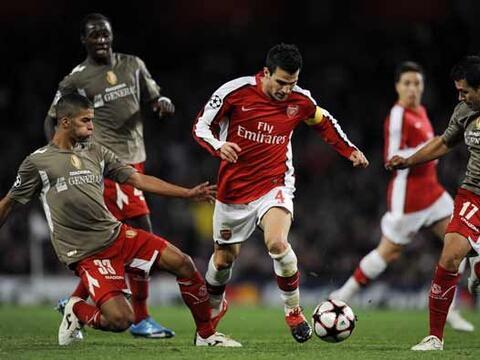 En el inicio de la quinta jornada de la 'Champions League', el Arsenal l...
