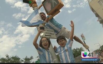 Celebran la victoria de Alemania y el segundo lugar de Argentina