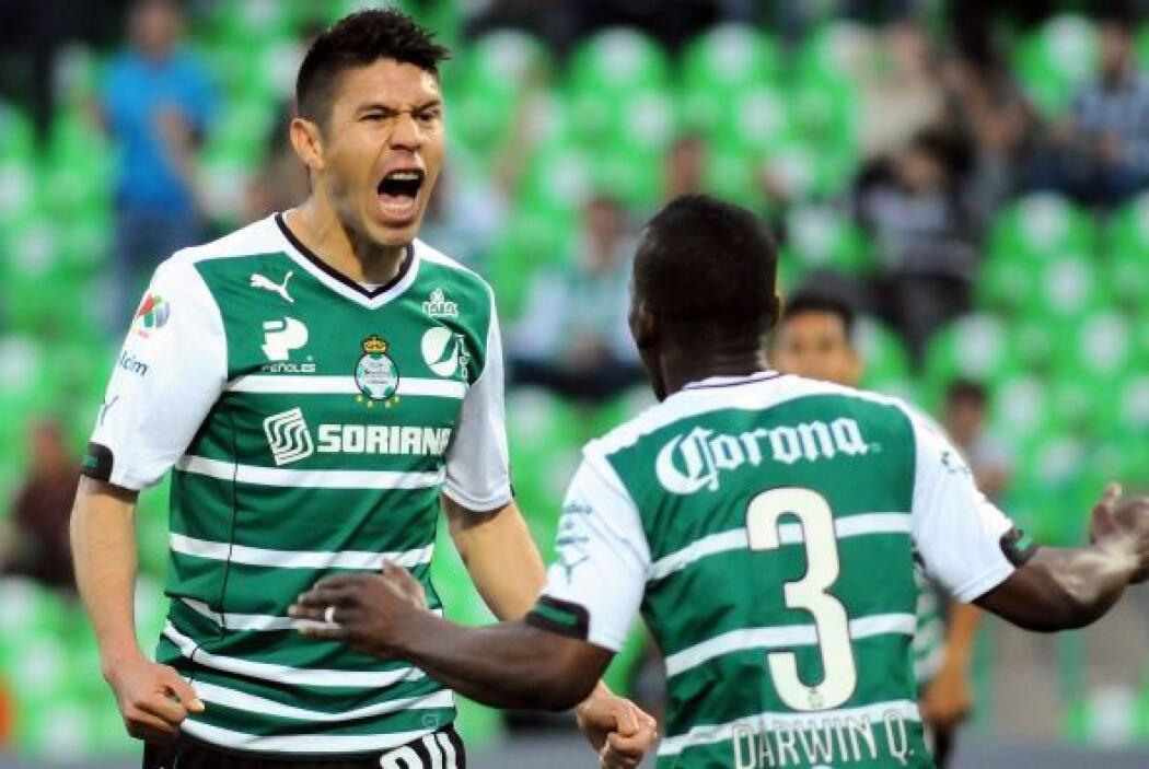 El delantero marcó una época en Santos donde anotó 32 goles en los últim...