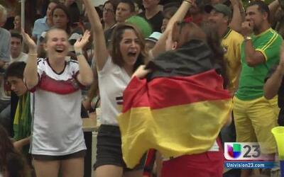 Alemania aplasta en goles a Brasil en el Mundial