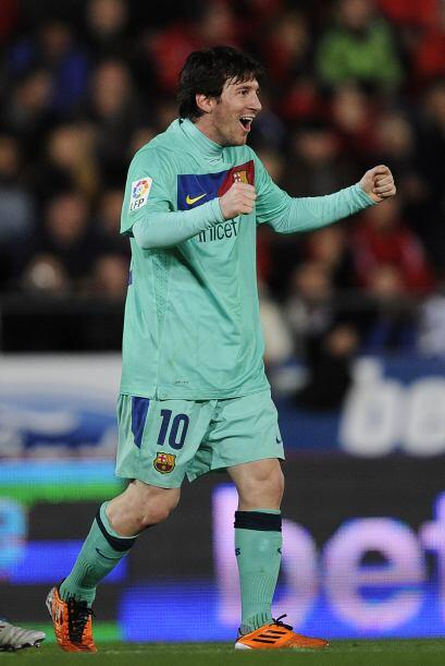El argentino y todo el barcelona sufrió la falta de Xavi. Igual f...
