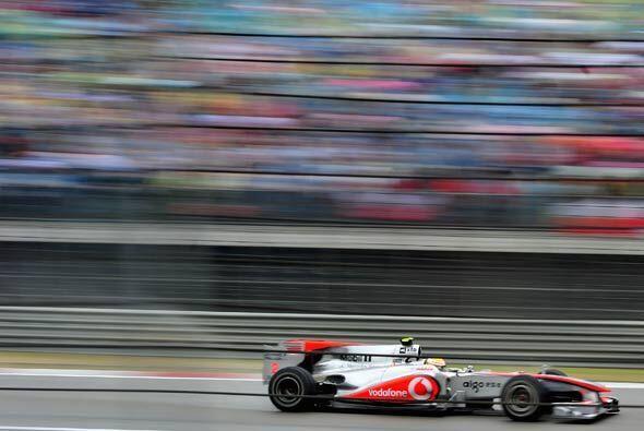 El equipo de Button optó por una estrategia de solo dos paradas p...