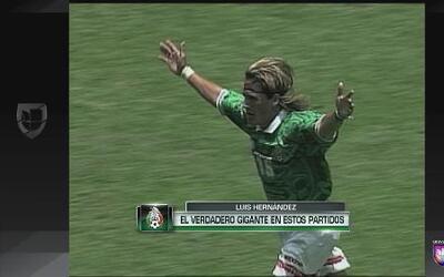 Luis Hernández, el verdadero gigante en partidos de México vs. Estados U...