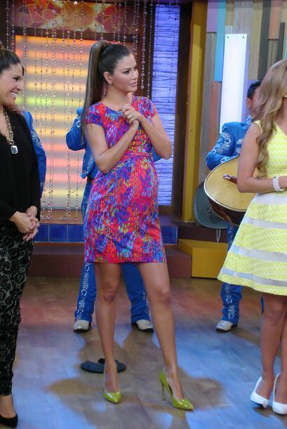 Así lucía la bella Ana Patricia ¡y baby Giulietta ca...