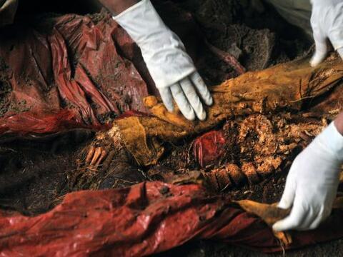 Los restos de cinco víctimas del conflicto armado en Guatemala fueron de...