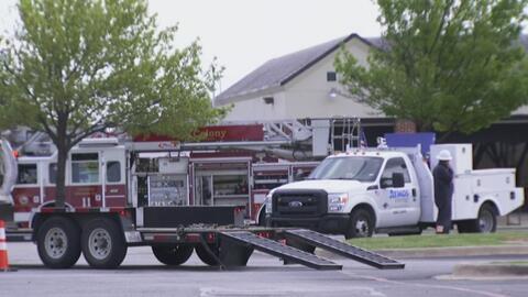 Una fuga de gas provocó evacuaciones en el área de The Colony