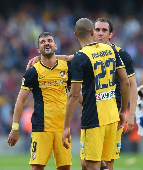 Por segundo año consecutivo David Villa celebró un campeonato de Liga so...