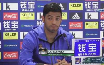 """Carlos Vela: """"Soy el primero en decir que la cagué, pero tampoco maté a..."""