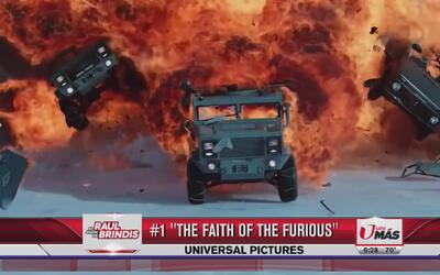 'The faith of the furious' se lleva el primer lugar en taquilla con 100....