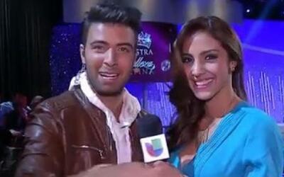 Gabriela Alvarez felicitó a Jencarlos por su cumpleaños