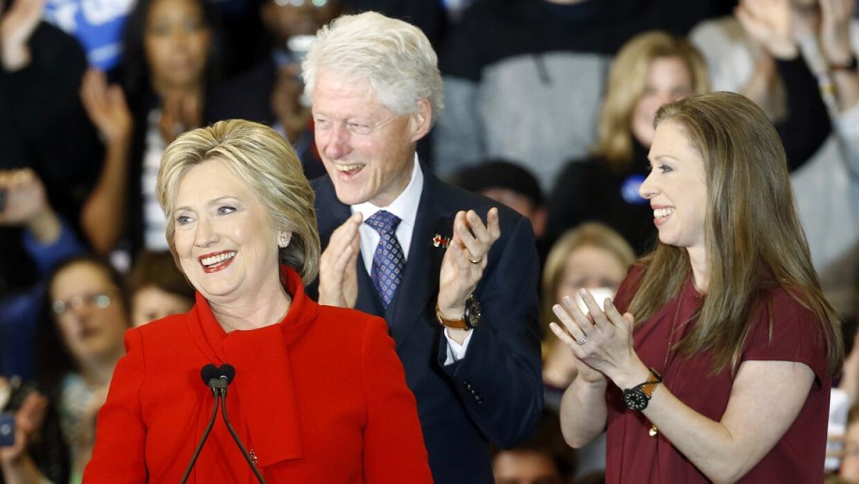Clinton pidió unidad dentro del Partido Demócrata.