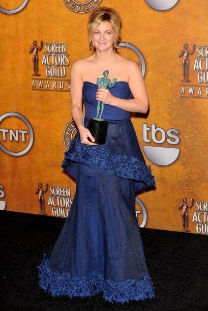 Entre sus múltiples reconocimientos y nominaciones, esta estupenda actri...