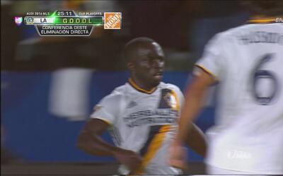 Boateng hizo un golazo para el 2-1 de LA Galaxy ante Real Salt Lake