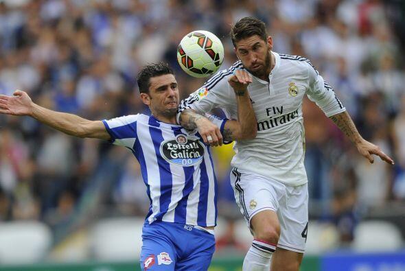 Las acciones continuaron con intensidad pero el Madrid se imponía...