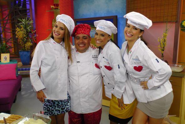 El amor hay que celebrarlo también desde la cocina. El chef Mario...