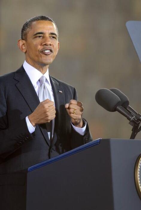 Barack Obama dio un discurso muy optimista sobre México.