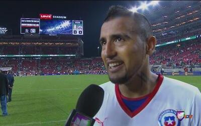 Arturo Vidal: 'Fue un empate justo'