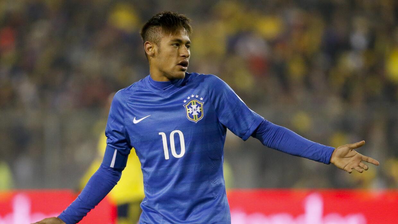 Neymar fue suspendido cuatro partidos por la expulsión ante Colombia Get...