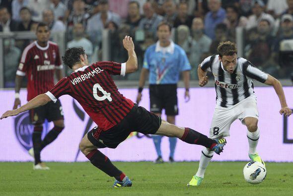 La 'Vecchia Signora' recibió al actual campeón del 'Calcio'.