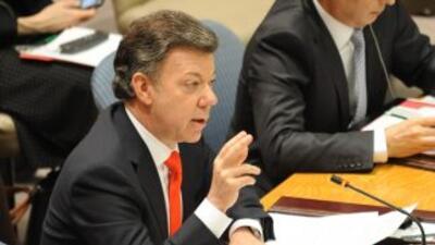 El Presidente Juan Manuel Santos preside reunión del Consejo de Segurida...