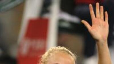 Caroline Wozniacki quiere el título y festejar como la numero 1 del mundo.