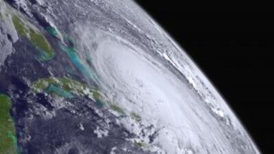 Huracán Joaquín sobre Bahamas