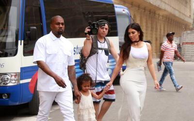 La familia Kardashian disfruta de su estancia en Cuba.