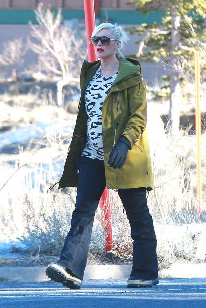 Gwen Stefani nos dejó ver que empieza este año 2014 con todo el 'glamour...